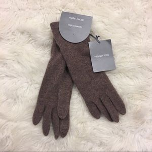 Hannah Rose 100% Cashmere Texting Gloves